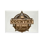 Country Lover Rectangle Magnet (100 pack)
