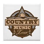 Country Lover Tile Coaster