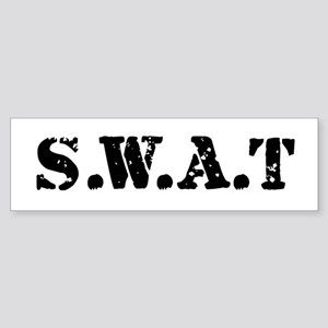 SWAT team Bumper Sticker