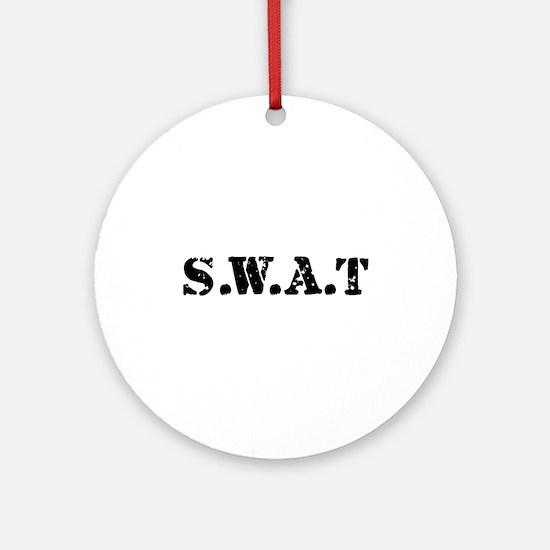 SWAT team Ornament (Round)