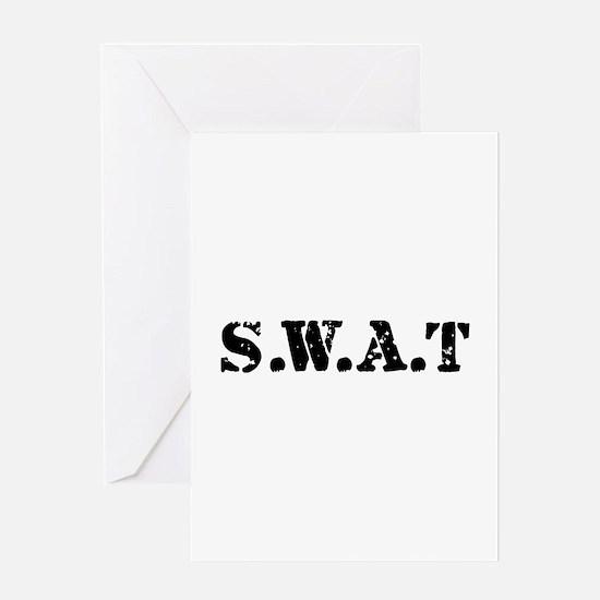 SWAT team Greeting Card