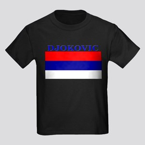 Djokovic Serbia Serbian Kids Dark T-Shirt