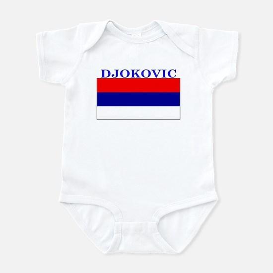 Djokovic Serbia Serbian Infant Bodysuit