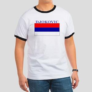 Djokovic Serbia Serbian Ringer T