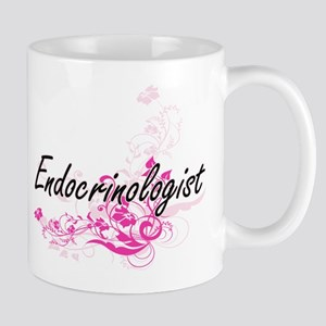 Endocrinologist Artistic Job Design with Flow Mugs
