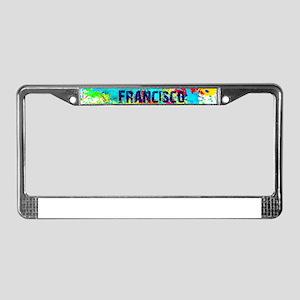 SAN FRANCISCO BURST License Plate Frame