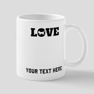 Beagle Love (Custom) Mugs