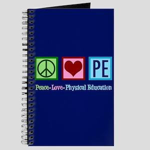 Peace Love PE Teacher Journal