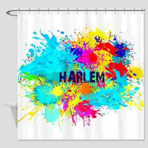 HARLEM BURST Shower Curtain