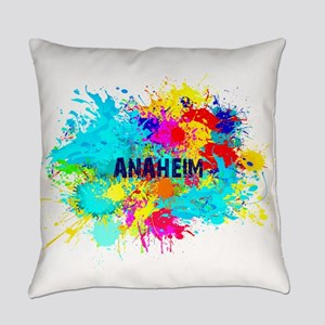 Anaheim Burst Everyday Pillow