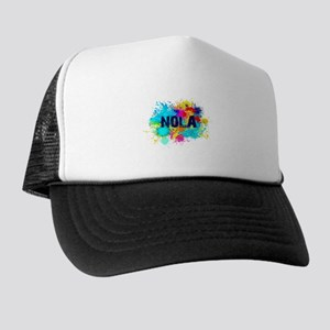Good Vibes NOLA Burst Trucker Hat