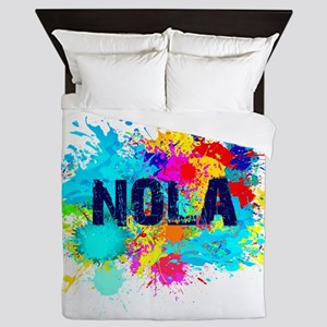 Good Vibes NOLA Burst Queen Duvet