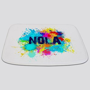 Good Vibes NOLA Burst Bathmat
