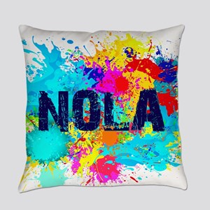 Good Vibes NOLA Burst Everyday Pillow