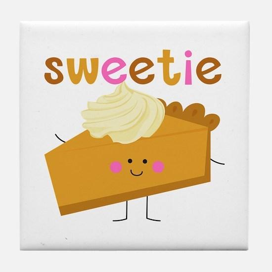 Sweetie Pie Tile Coaster