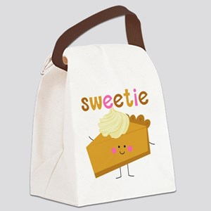 Sweetie Pie Canvas Lunch Bag