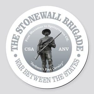 The Stonewall Brigade (GR) Round Car Magnet