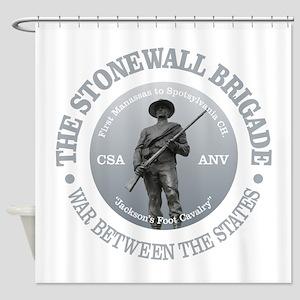 The Stonewall Brigade (GR) Shower Curtain