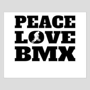 Peace Love BMX Posters