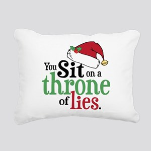 Throne of Lies Rectangular Canvas Pillow