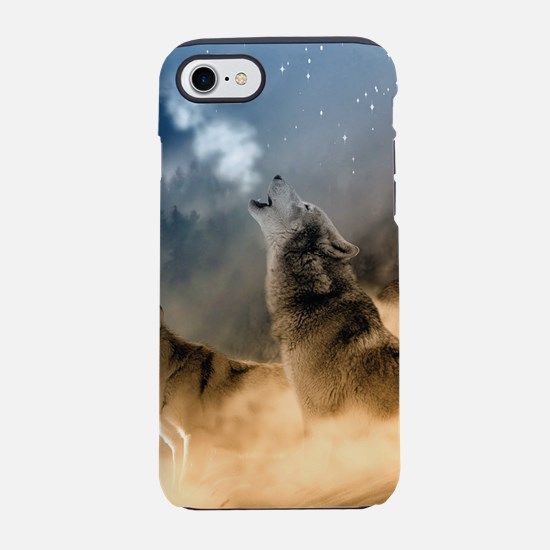 Wolves During Winter iPhone 8/7 Tough Case