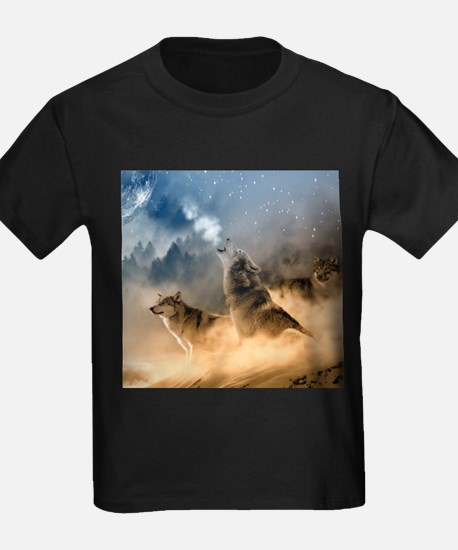 Wolves During Winter T-Shirt