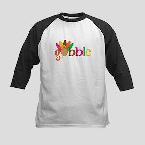 Gobble Turkey Baseball Jersey