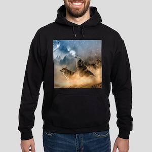 Wolves During Winter Sweatshirt