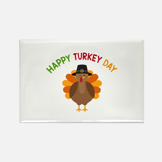 Happy Turkey Day Magnets