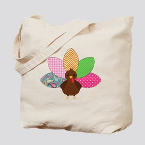 Colorful Turkey Tote Bag