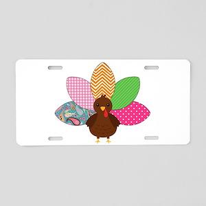 Colorful Turkey Aluminum License Plate