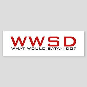 WWSD Bumper Sticker