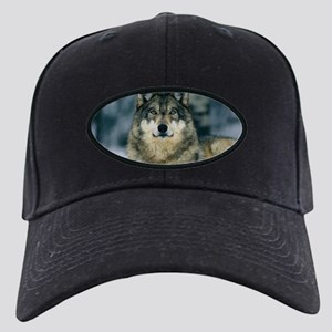 Wolf In The Snow Baseball Cap