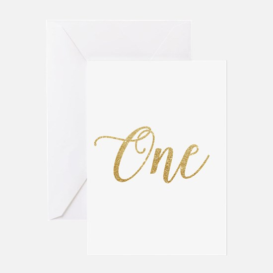 Glitter One New Greeting Cards