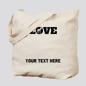 Airedale Love (Custom) Tote Bag
