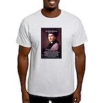 Jean Jacques Rousseau: Educat Ash Grey T-Shirt