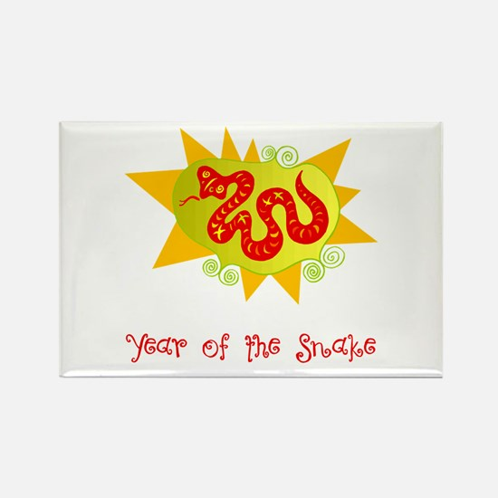 Year of the Dragon Bright Rectangle Magnet