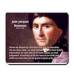 Jean Jacques Rousseau: Education Mousepad