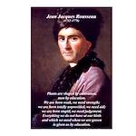 Jean Jacques Rousseau: Education Postcards (Packag