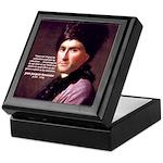 Jean Jacques Rousseau: Education Keepsake Box