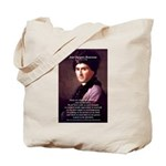 Jean Jacques Rousseau: Education Tote Bag