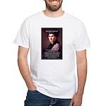 Jean Jacques Rousseau: Education White T-Shirt