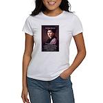 Jean Jacques Rousseau: Education Women's T-Shirt