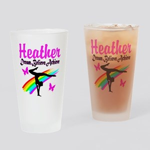 SUPER STAR GYMNAST Drinking Glass