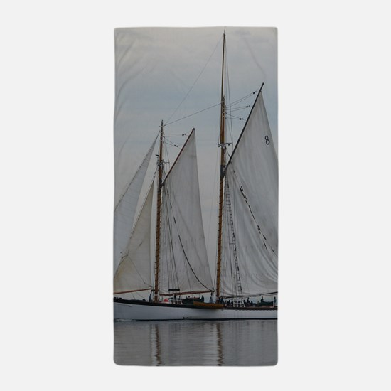 Unique Tall ship Beach Towel