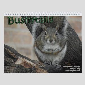 Bushytails Wall Calendar