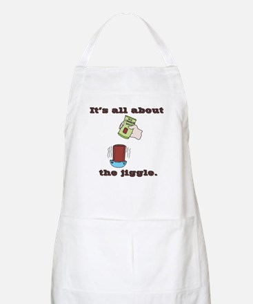 The Jiggle (Canned Cranberry Sauce) BBQ Apron