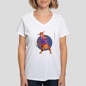 Utter Madness Women's V-Neck T-Shirt