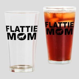 Flattie Mom Drinking Glass