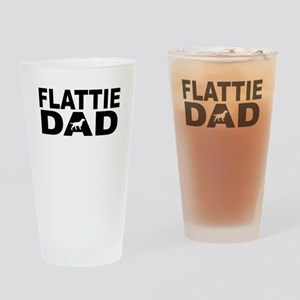 Flattie Dad Drinking Glass
